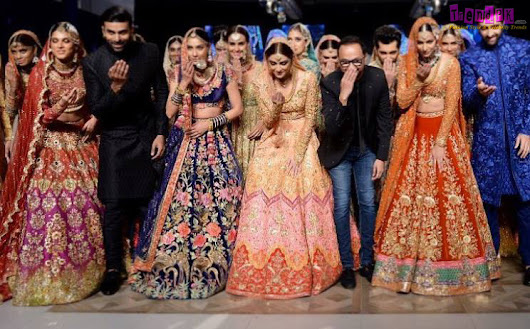 "Nomi Ansari Bridal Collection ""Qabool Hai"" at PFDC L'Oréal Paris Bridal Week 2017"