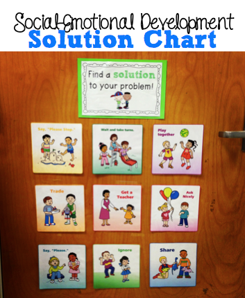 social activities for preschoolers teaching social emotional skills with a solution chart 200