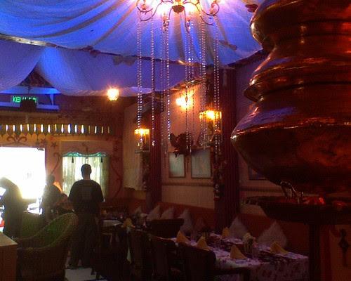 Bollywood Restaurant Interior