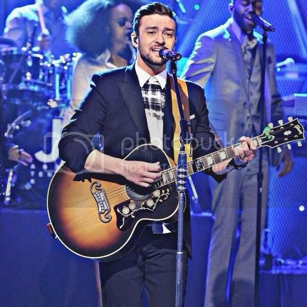 Justin Timberlake performs  'Not A Bad Thing' on 'Fallon'...