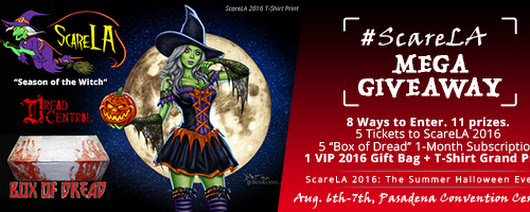 ScareLA 2016: Ultimate Summer Halloween Giveaway!