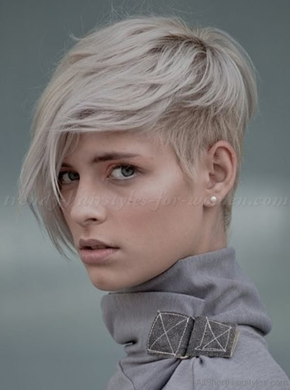 Hairstyle Undercut Hairstyle Female Short Hair