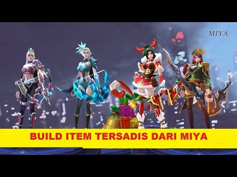 Cara Build item skill MIYA Mobile Legends