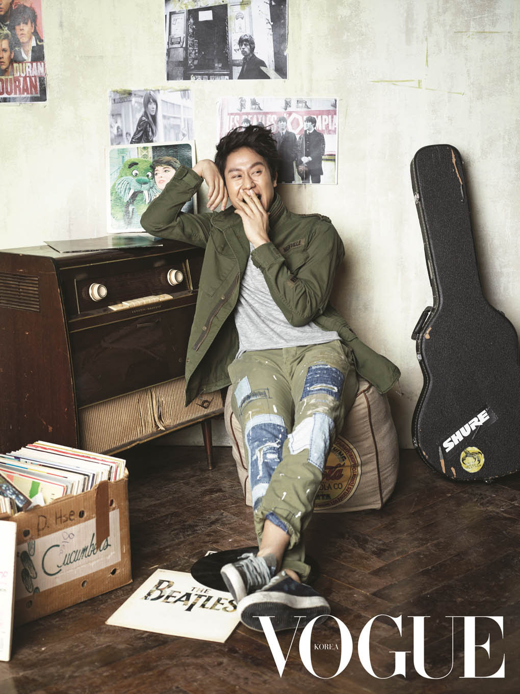 Jung Woo - Vogue Magazine February Issue '15