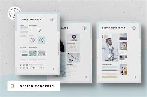 Concept Design Mood Board Templates ~ Templates ~ Creative