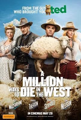 奪命西/百萬種硬的方式(A Million Ways to Die in the West)poster