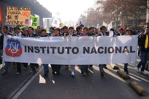 Marcha educación pública, 14 de Julio 2011. by Manuel Venegas