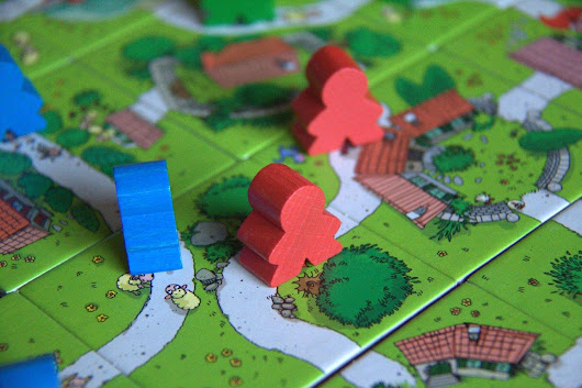My First Carcassonne – big meeples for little gamers – Altema Games
