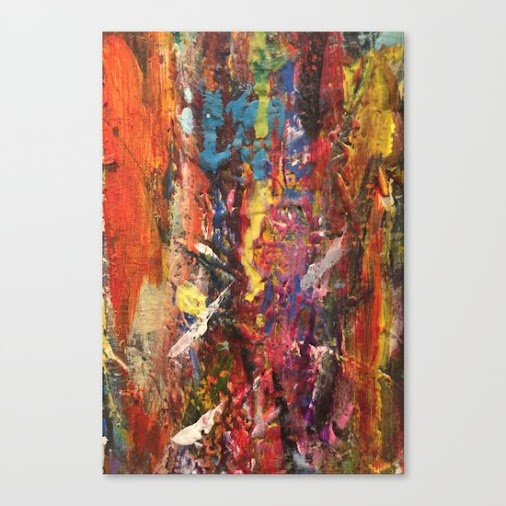 Original art prints and canvas prints offered by Express Yourself Studios through Society6 many options...