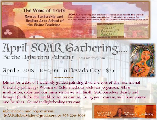 Intentional Painting…SEE the Light | Sound And Light Healing Arts