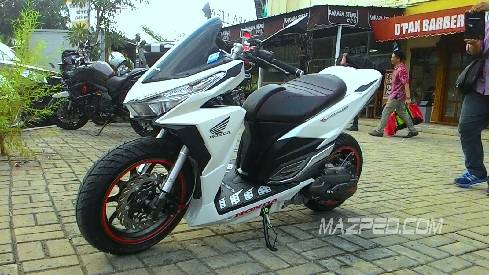 Modifikasi Vario New 150 Kumpulan Modifikasi Motor Vario