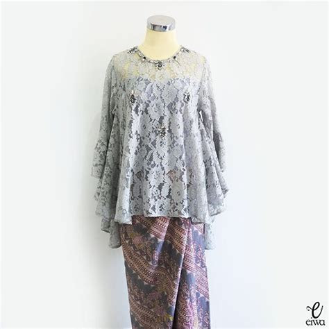 pin  lianawati ahmad  hijab outfits kebaya brokat