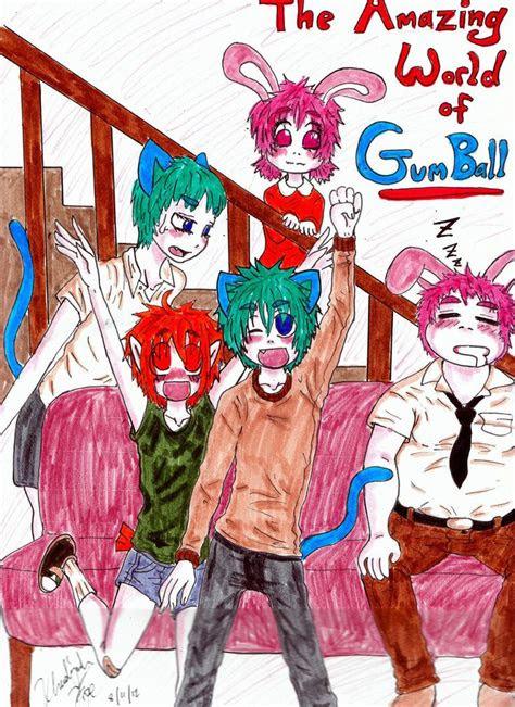 drawing   amazing world  gumball anime gumball
