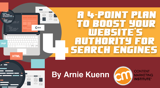 A 4-Point Plan to Boost Your Website's Authority for Search Engines