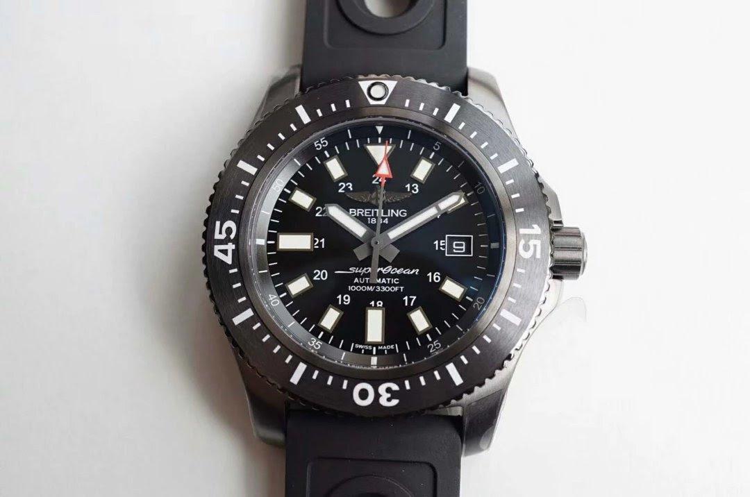 Replica Breitling Superocean Black