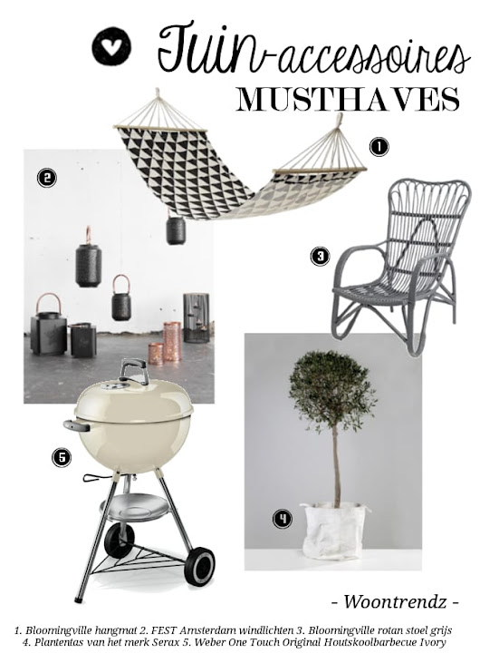 Tuinaccessoires Musthaves - Woontrendz
