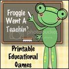 Froggie Went A Teachin