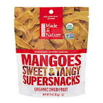 Made In Nature Mangoes, Sweet & Tangy - 3 oz