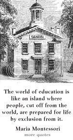 Maria Montessori quote at dailylearners.com