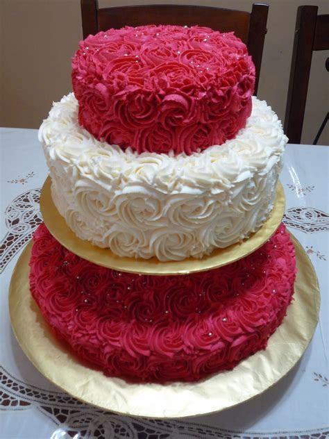 GG Home Biz Cakes & Wedding Cakes: Romantic Rose Wedding