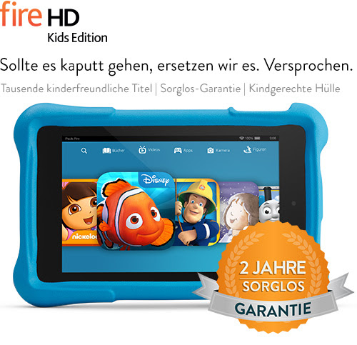 Fire HD Kids Edition - Das Amazon-Tablet für Kinder