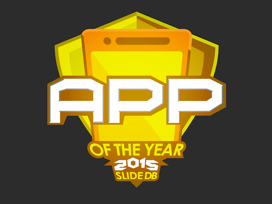 Top 50 - 2015 App of the Year Awards