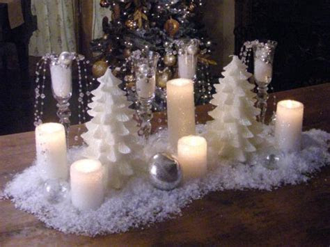 How to Create a Snowy Candle Centerpiece   HGTV