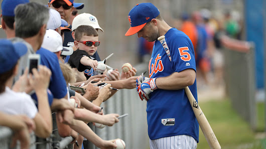 David Wright talks making spring debut at DH