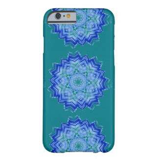 Blue Mandala Design on iPhone 6/6s Case
