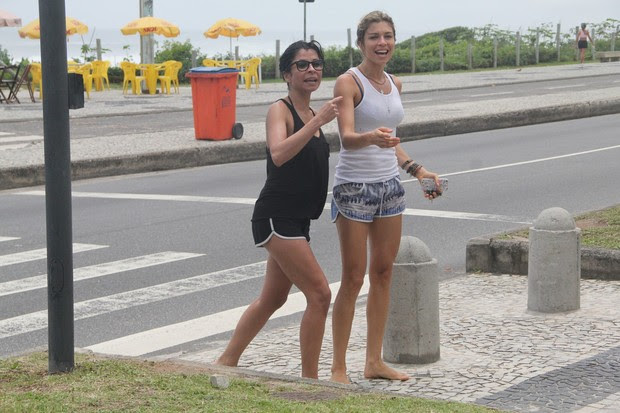Grazi e Ana Lima  (Foto: Dilson Silva/ Ag. News)