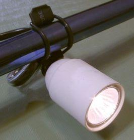 High-power halogen headlight