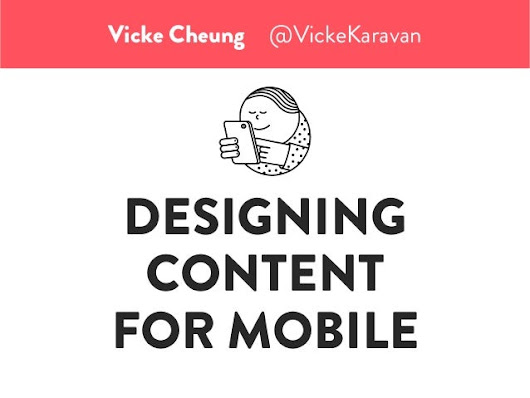 Ten Lessons in Designing Content for Mobile