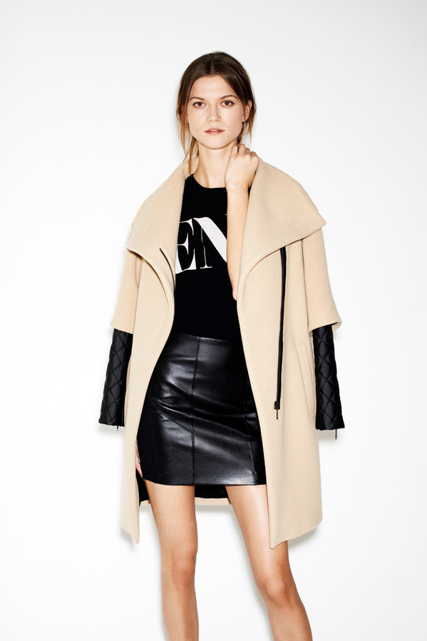 zara13 Kasia Struss Models Zaras December 2012 Lookbook