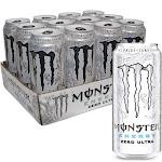 Monster Zero Ultra - 16 Ounce - 24 Pack