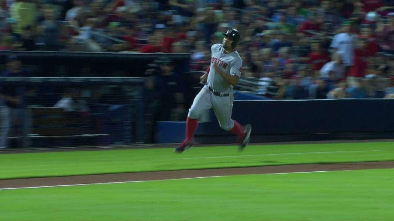 Boston derrota a Atlanta con Sandoval en la banca