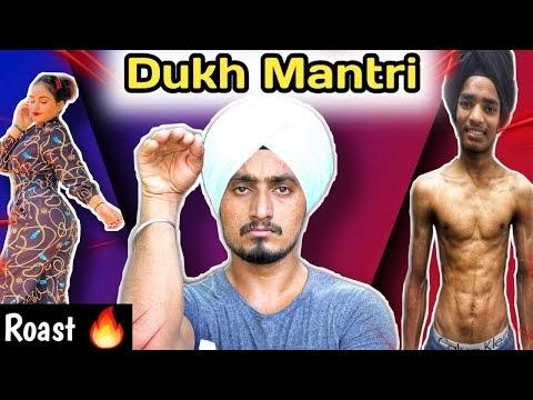 Funny  Mukh Mantri || Sony Saan || Roast || PUNJABI HALCHAL BACK SONG MUKH MANTRI