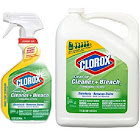 Clorox Clean-Up Cleaner Spray with Bleach and Refill Combo