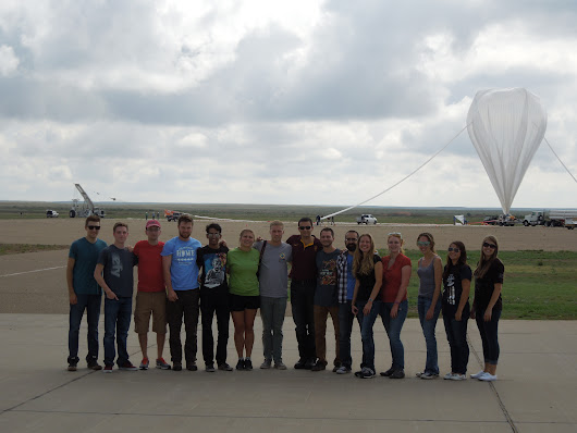 Student Experiments Flying High Over New Mexico