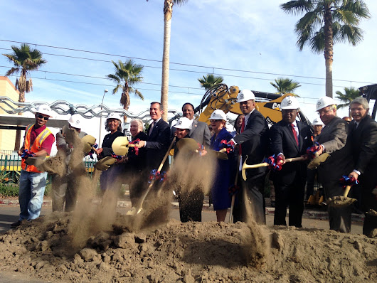 Metro breaks ground on $2-billion Crenshaw light-rail line