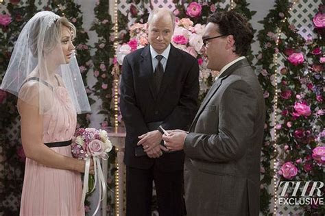 The Big Bang Theory Wedding Reveals Penny Wears a Pink