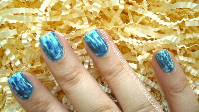 acid wash jean nail art 2