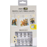 Merkury Mini LED Photo Clip String Lights - White (MI-FCCT2-925)