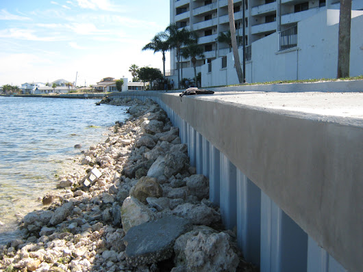 Rip Rap Seawalls in Florida - Gibson Marine Construction