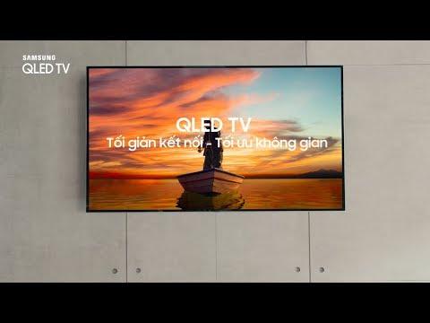 QLED TV | Cáp quang siêu mảnh tối ưu không gian