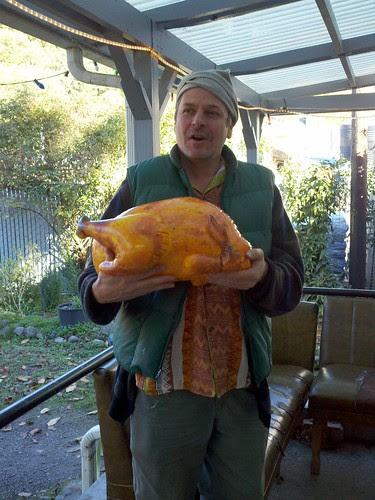 JJ's delicious looking roast turkey