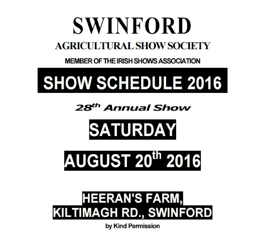 2016 Swinford Agricultural Show Photography Comeptition - Swinford Camera Club