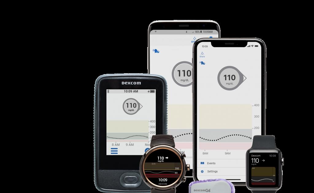 Dexcom G6 App Store - apps here