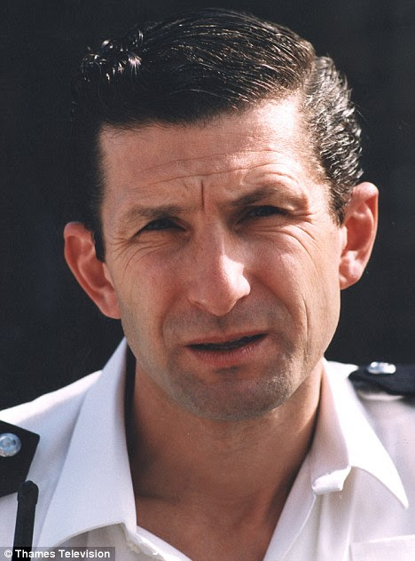 A distant memory: Jeff as daft PC Reg Hollis in The Bill