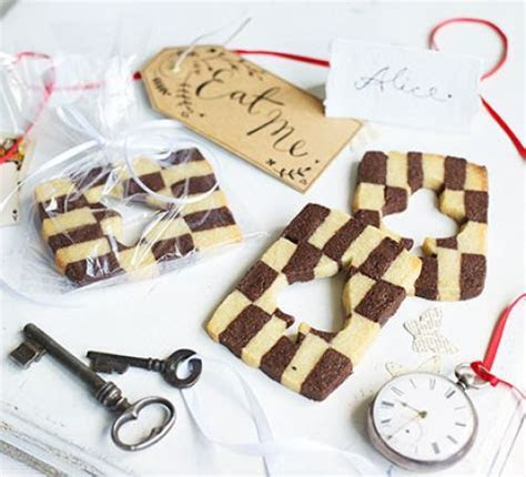 Alice in Wonderland wedding cookies recipe   BBC Good Food