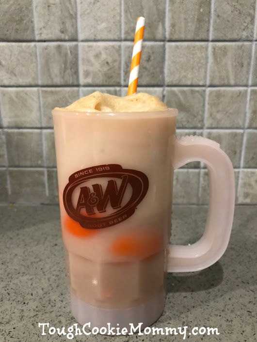 We Celebrated National Root Beer Float Day! #AWRootBeer #Ad - Tough Cookie Mommy